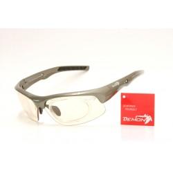 Occhiale da Sole Demon Fusion Fotocromatico con Clip per Lenti da Vista Grigio