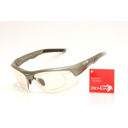 Sunglasses Demon Fusion Photochromic with Clip for View Lenses Grey
