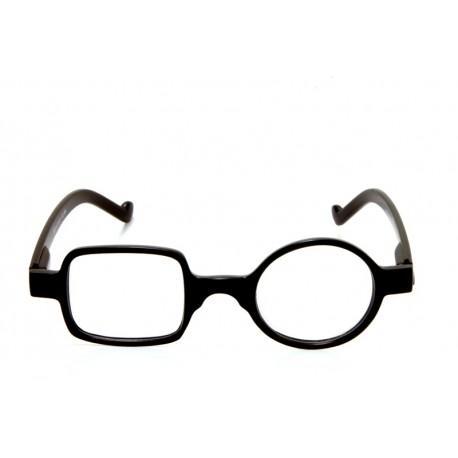 Occhiale da lettura Quadro Tondo Optivision 295P Nero