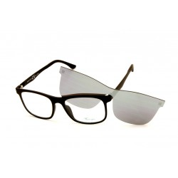Eyeglasses Foue Eyes with Clip Magnetic Sun EY420 C2