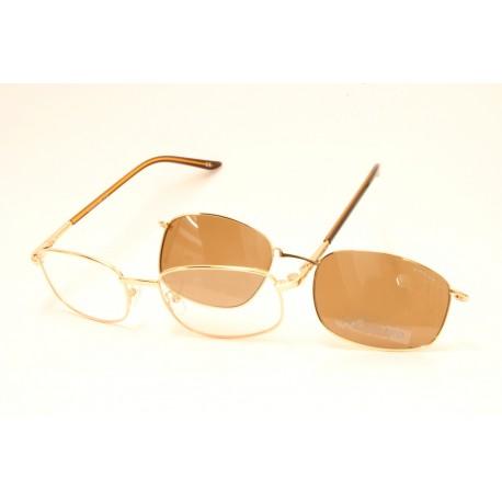 Occhiale da vista Lotus con Clip Magnetico Sole POLARIZZATO LOTUS MV10406 54-19 140 C1