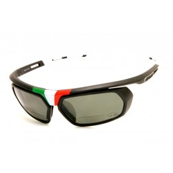 Sunglasses Salice 018 ITA BLACK Bifocal Polarized Interchangeable Lenses