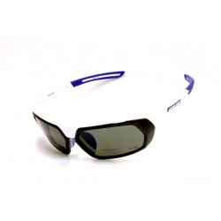 Sunglasses Salice 018 WHITE-BLUE Bifocal Polarized Interchangeable Lenses