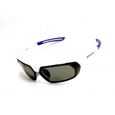 Sunglasses Salice 018 WHITE-BLUE Bifocal Polarized Interchangeable Lenses