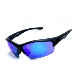 Sunglasses Salice 838 RW Black + Kit Optic