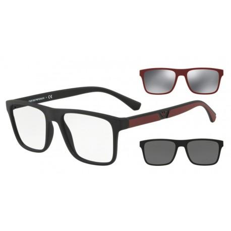 Eyewear EMPORIO ARMANI EA 4115 5042/1W with 2 Clip for Sun