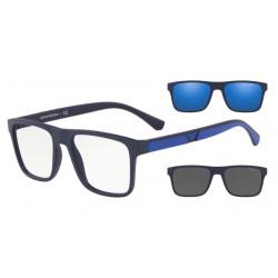 Occhiale da vista EMPORIO ARMANI EA 4115 5759/1W Con 2 Clip da Sole