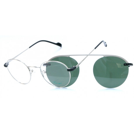 Eyeglasses Foue Eyes EY499 C2 with Clip Magnetic Sun
