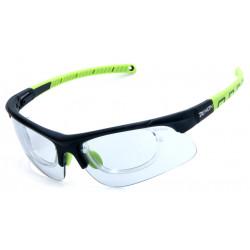 Occhiale da Sole Demon Infinite Fotocromatico con Clip per Lenti da Vista - Nero/Verde