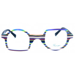Eyeglasses Inverted Arch Four Eyes EY529 C3