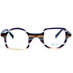 Eyeglasses Inverted Arch Four Eyes EY529 C1