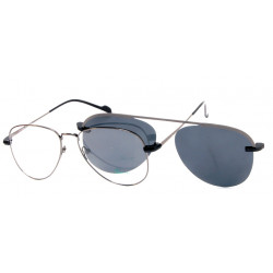 Eyeglasses Foue Eyes EY514 C2 with Clip Magnetic Sun