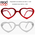 Reading Glasses Heart Read Loop Flamingo