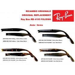 Aste ricambio Ray Ban Folding RB 4105 - Pieghevoli