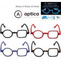 Occhiale Quadro Tondo APTICA POP ART con Filtro Anti Luci Blu