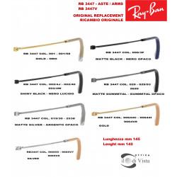 Aste di Ricambio Ray Ban RB 3447 - 3447V - 3447N - 3447JM