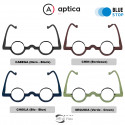 Reading Glasses Aptica Cactus with Blue Light Filter