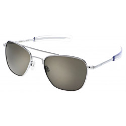Randolph Aviator AF125 58MM BRIGHT CHROME AMERICAN GRAY AGX