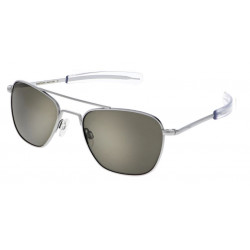 andolph Aviator AF085 55MM MATTE CHROME AMERICAN GRAY