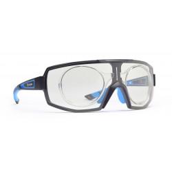 Sunglasses Demon Performance RX Photocromic With Clip Black Blue