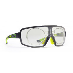 Occhiale da Sole Demon Performance RX Fotocromatico con Clip per Lenti da Vista - Nero/Verde
