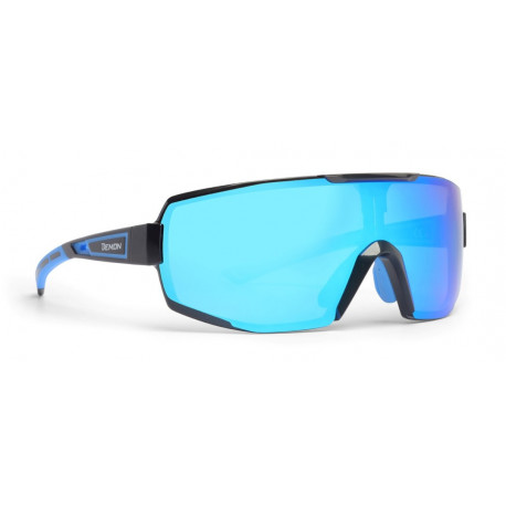 Sunglasses Demon Performance RX Photocromic With Clip Black Blue