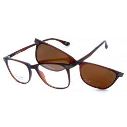 Eyeglasses Kiwi with Magnetic Clip For Sun Polarized MV70206 C03
