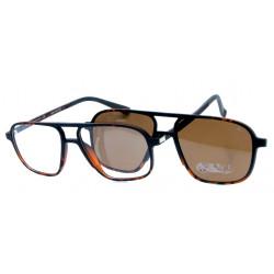 Eyeglasses Kiwi with Magnetic Clip For Sun Polarized 1910 C3