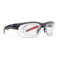 Sunglasses Demon Fusion Photochromic with Clip for View Lenses Matt Black