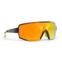 Sunglasses Demon Performance RX Photocromic With Clip Black Yellow
