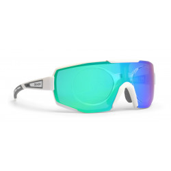 Sunglasses Demon Performance RX Photocromic With Clip White/Grey