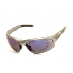 Occhiale da Sole Demon Fusion con Clip per Lenti da Vista Grigio