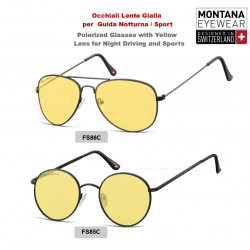 Glasses with Yellow Lenses Montana for Driving