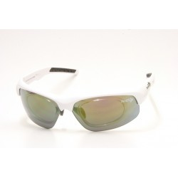 Sunglasses Demon Fusion with Clip for View Lenses White