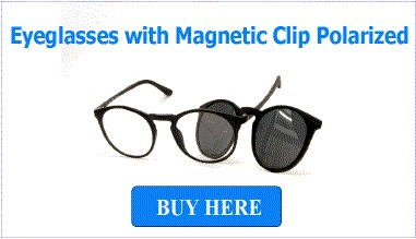 Eyeglasses With Magnetic Clip